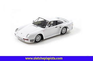 1 - PORSCHE 959 STREET CAR WHITE COLOR
